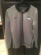 Nike UCONN Huskies Basketball Jacket Women's Medium Grey