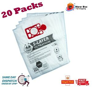 20 x Bags For Numatic Henry Hoover Hetty James Vacuum Cleaner Hoover Bags
