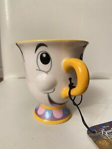 NEW DISNEY BEAUTY & THE BEAST CHIP MUG - BNWT TEA CUP
