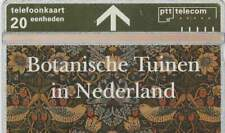 Telefoonkaart / Phonecard Nederland R068 ongebruikt - Botanische Tuinen