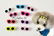 10PCS Pet Supplies Pet Accessories Dog Hair Bows Sun Glasses Hair Clippers Cute