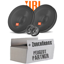 JBL Altavoces para Peugeot Partner - 16cm Sistema Cajas Coche - Set Montaje -