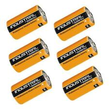 6x Duracell INDUSTRIAL Procell 1.5V Type D Cell MN1300 LR20 Alkaline Batteries