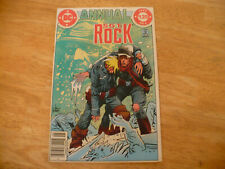 SGT ROCK ANNUAL # 4 (FN 6.0) DC 1984 - HIGHER MID GRADE - NICE!
