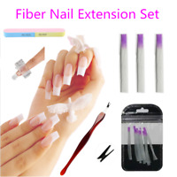 Manicure Extension Fibernails Fiberglass Nail Extension Acrylic Nails Fibra Kit