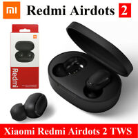For Xiaomi Bluetooth 5.0 Redmi Airdots 2 TWS Wireless Headset Stereo Bass & Mic