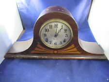 Vintage Wind mantel Clock Sessio with Key For Parts