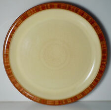 "Denby Langley Fire Stripes Dinner Plate 10 1/2"""