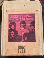 Deep Purple Shades Of RARE ORIG ORBIT 8-TRACK psych