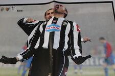 Poster Juventus Trezeguet e Montero  formato 41 x 28 cm. circa