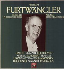 Bruckner, Brahms, Beethoven, Strauss, Wilhelm Furtwängler 8 LP BOX