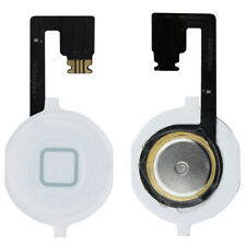 iPhone 4s Home Button Flex Flexband Flexkabel Menü Haupt Knopf Weiss