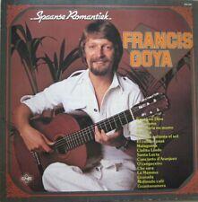 """FRANCIS GOYA - SPAANSE ROMANTIEK  - VINYL 12"""" - 33 RPM"""