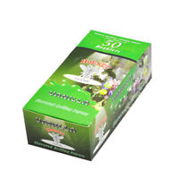 1 BOX HORNET 1 1/4 Size VANILLA Flavored Cigarette Rolling Papers 78MM 50 Packs