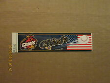 Mwl Peoria Chiefs Vintage 2002 Cardinals Affialiate Logo Baseball Bumper Sticker