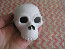 New Spooky Cool Zombie SKULL Shaped Foam Relaxation Squeeze Stress Relief Ball