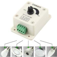 HOT 12-24V 8A LED Light Strip -Manual Dimmer Adjustable Brightness Controller