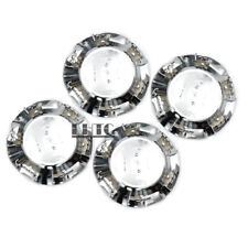 "4Pcs 7 1/8"" Wheel Center Caps Covers Chrome For Chevy Tahoe Suburban Silverado"
