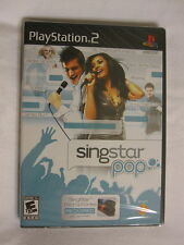 Singstar Pop (Playstation PS2) Brand New, Sealed~