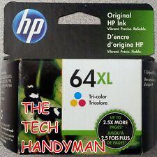 HP GENUINE 64XL TRI-COLOR INK (RETAIL BOX) ENVY 7155 7158 7164 7855 7858 7864