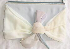 MAISON MARTIN MARGIELA Pastel Silk Leather Clutch Bag