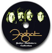 FOGHAT Rock Guitar Tab Tablature Song Book CD