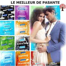 ❤ Le Meilleur de PASANTE ❤ 16 modèles de préservatifs x6 x12 x24 x48 MIX