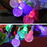 10-100 LED Christmas Wedding Xmas Party Decor Outdoor Fairy String Light Lamp
