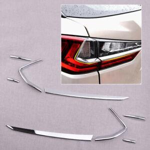 Kit Rear Tail Light Lamp Hoods Cover Trim Sticker fit for Lexus RX 2016-2018