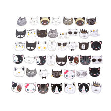 45Pcs/set Funny Cute Cat Adhesive Stickers Decorative  DIY Diary Label Sticker
