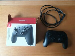 Official Nintendo Switch Wireless Pro Controller - Black - Boxed