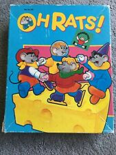 Vintage Discovery Toys Oh Rats! Puzzle Game Occupational Learning Therapy 1988