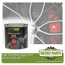 Red Caliper Brake Drum Paint for Nissan NP300 Navara. High Gloss Quick Dying