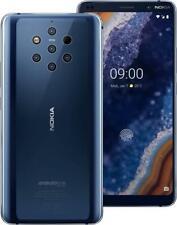 "Nokia 9 PureView 5.99"" Dual Sim 128GB+6GB RAM Smartphone Android 4G ITALIA Blue"