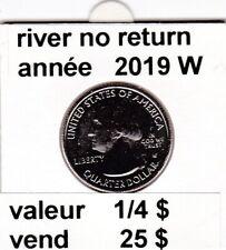e2 ) pieces 1/4 $ river no return 2019 W pieces rare ( 2 )