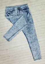 BDG URBAN OUTFITTERS HIGH RISE TWIG ANKLE SKINNY Sz 29 ACID JEANS 30X29 EUC F83