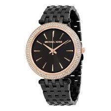 Michael Kors MK3407 Darci Negro Marcar Acero Inoxidable Cuarzo Reloj de Mujer