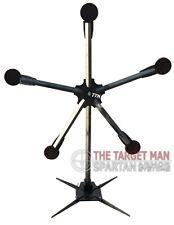 "DIY Texas Star Shooting Target AR500 and .22LR 6"" Paddles.  Reactive AR500"