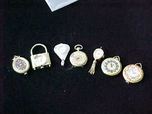 Large Lot Of Swiss Made Ladies Pendant Watches Most Are Working