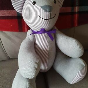 """Memory/Keepsake Bear 3 styles available made from loved ones clothing or new 18"""""""
