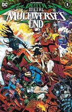 DARK NIGHTS DEATH METAL MULTIVERSE'S END 1 Main Cover 1st Print DC NM 9/29