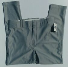 NWT Russell Athletic Baseball Pants Grey Men's Size Large
