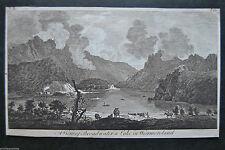 Originaldrucke (bis 1800) aus Großbritannien mit Landschafts-Motiv