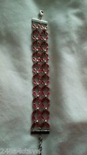 Swiss Made Ladies -Girls SWATCH Red Detail Bracelet.....NEW and BOXED