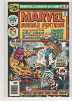 MARVEL Double Feature #16 Captain America Iron Man Avengers 9.2