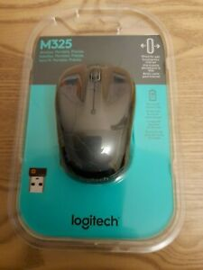 Logitech Wireless Mouse M325 UNIFYING receiver cordless optical mini Mice Blue