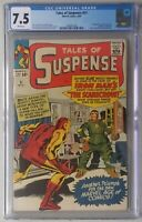 Tales Of Suspense #51 CGC 7.5 WHITE PGS! FIRST Scarecrow! ORIGIN! IRON MAN!
