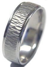 Men Palladium ( Platinum Group Metal) 6 Mm Comfort Fit Wedding Band Ring New !