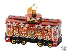 RADKO 1014647 BOX CAR SWEETS - B&O RAILROAD - TRAIN - RETIRED ORNAMENT