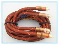 Choseal1.5M/5FT Hi Fi Audio cable 2RCA to 2RCA M/M for DVD/CD Best Quality